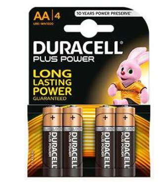 batterie duracell AA