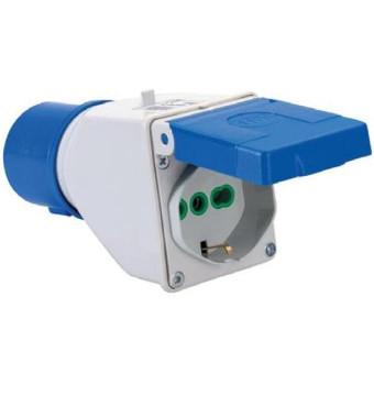 adattatore industriale cee 220 V art. 73101